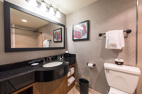 Hard Rock Hotel Bathroom